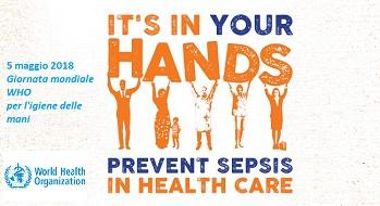 Giornata mondiale WHO per l'igiene delle mani